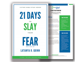 Slay fear and anxiety today. Overcome the stronghold of fear that keeps you stuck with this free study.