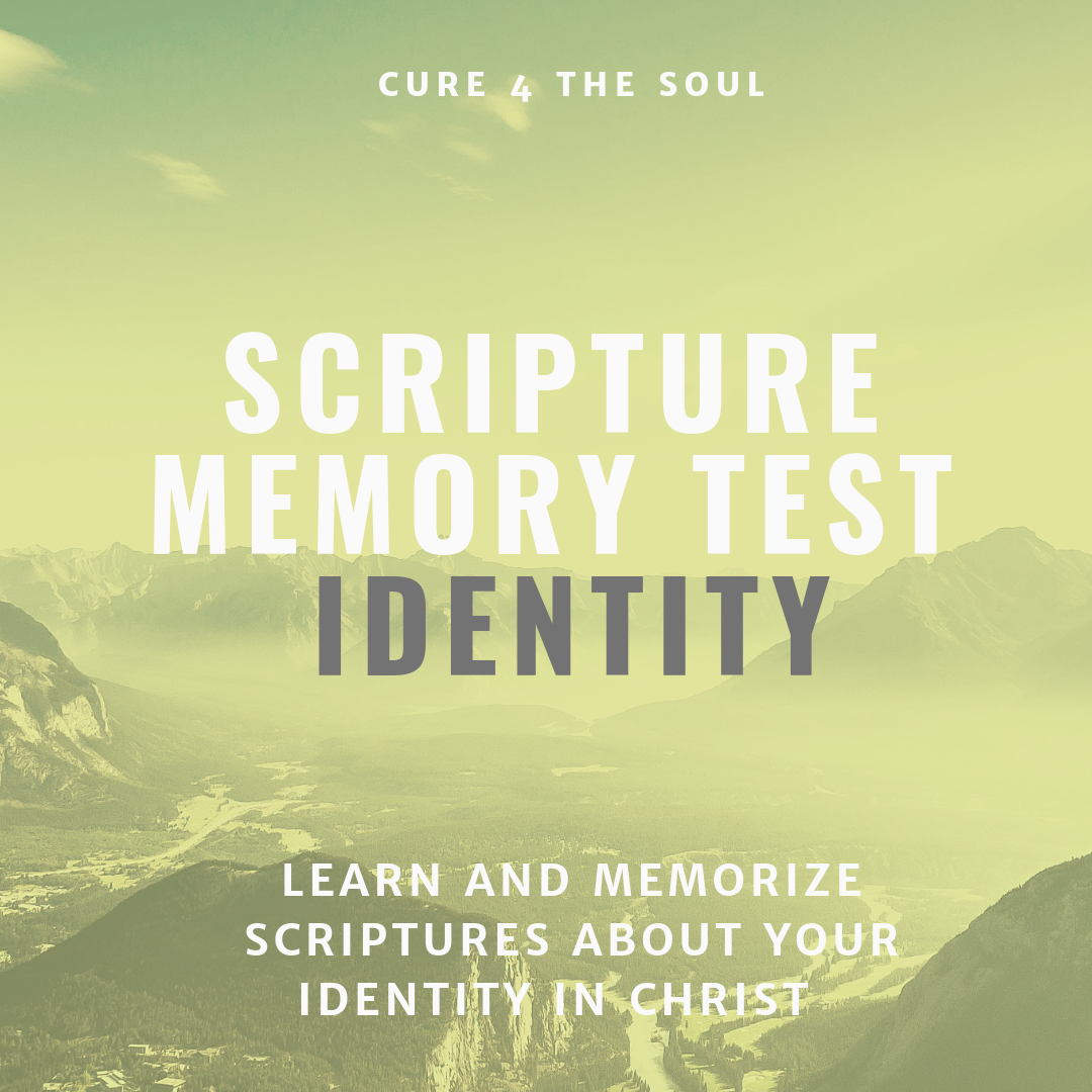 Scripture test for your identity in Christ