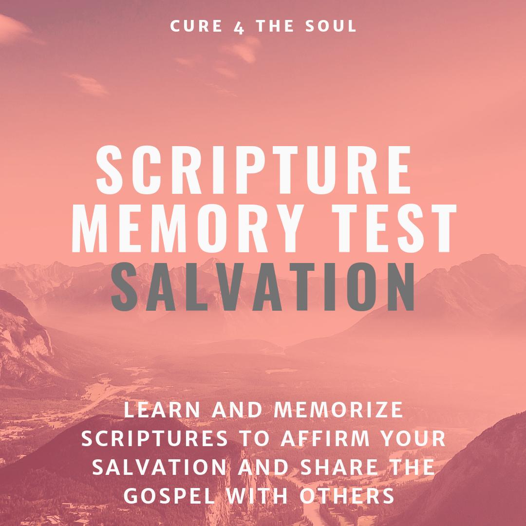 Salvation scripture test