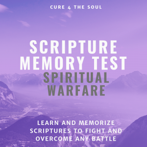 Spiritual Warfare Scriptures Test